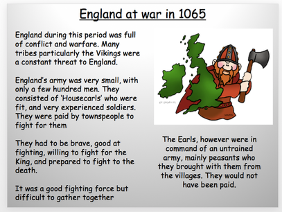 Year 7: What was England like in 1066?