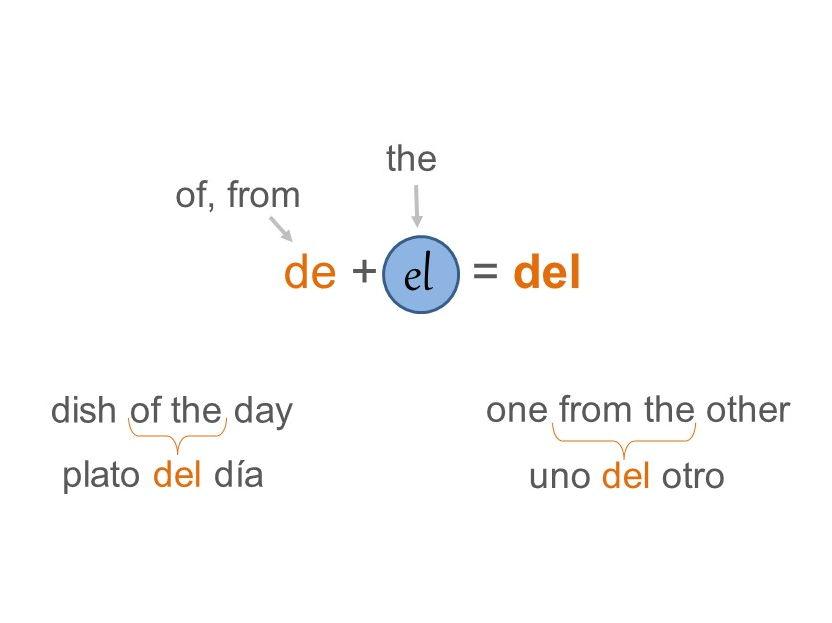 Artículos: el, la, los, las, un, una, unos, unas