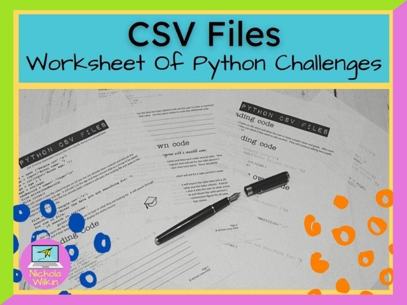 Python CSV files