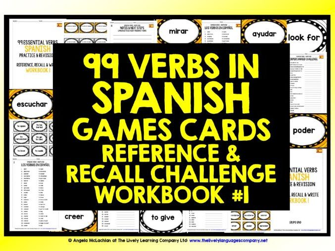SPANISH VERBS REVISION 1