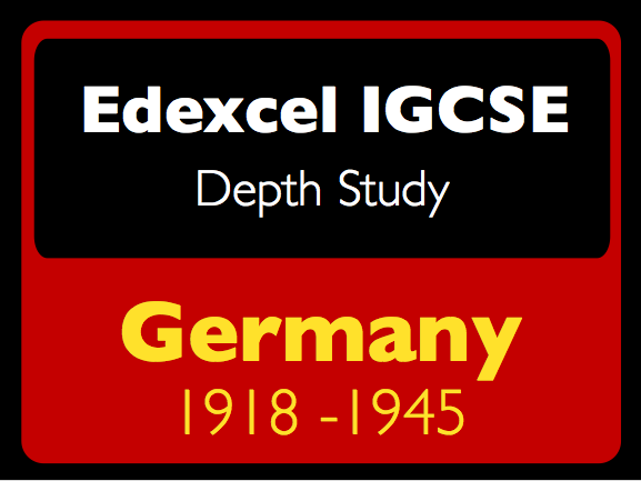 Edexcel IGCSE History: Germany 1918-45