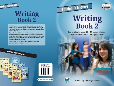 The Striving To Improve Series: Writing Book 2