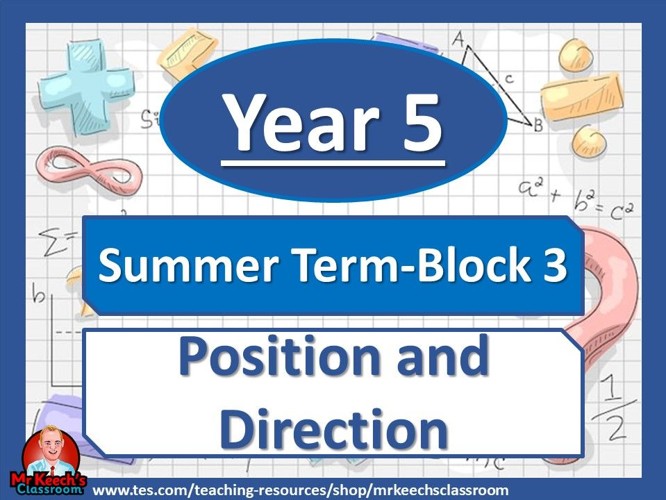 Year 5 - Position and Direction - Summer Block 3 - White Rose Maths