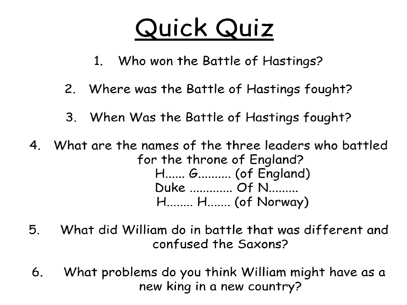 worksheet Battle Of Hastings Worksheets Ks2 william the conqueror and consolidation of power by sambennett teaching resources tes