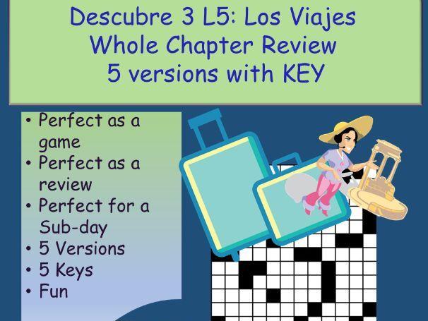 Los Viajes (Descubre 3- Trips) B2-C1