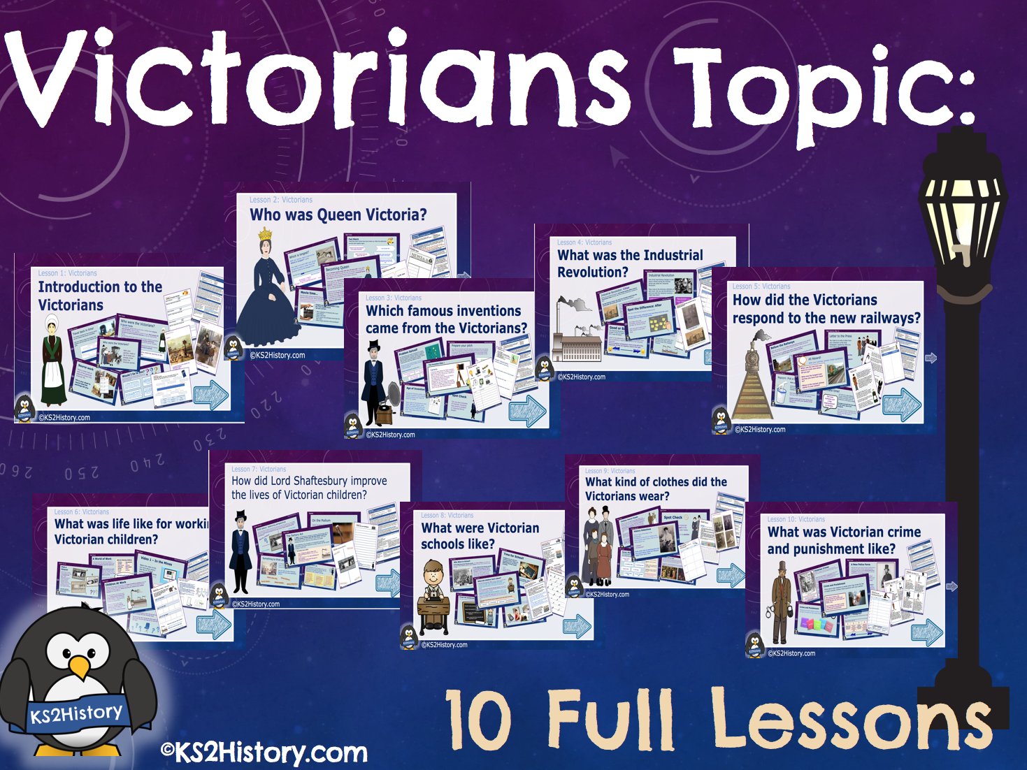 Victorians Topic 10 Lessons