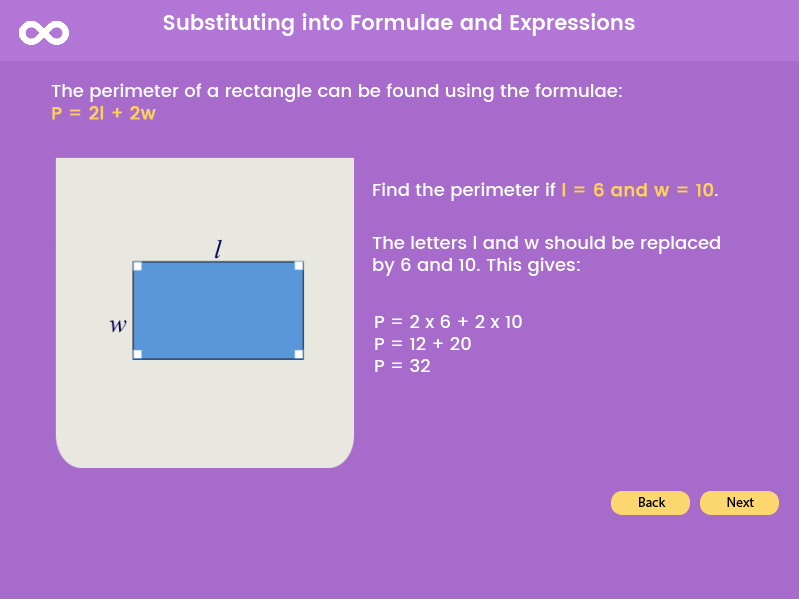 Substitution - Year 8, Year 9, Key stage 3