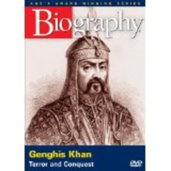 A & E Biography Genghis Khan; Terror and Conquest WITH ANSWER KEY! : )
