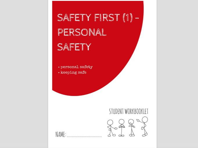 SPECIAL EDUCATION - SAFETY FIRST (1) - PERSONAL SAFETY workbooklet