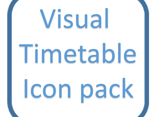Visual Timetable Icon pack - small