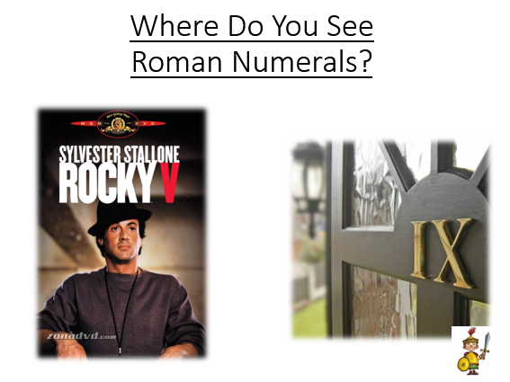 Roman Numerals - Impact of the Romans