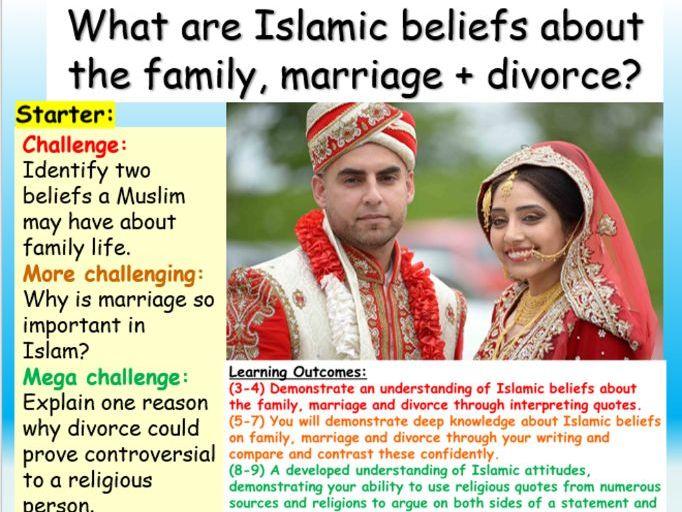 Islam : Family + Divorce