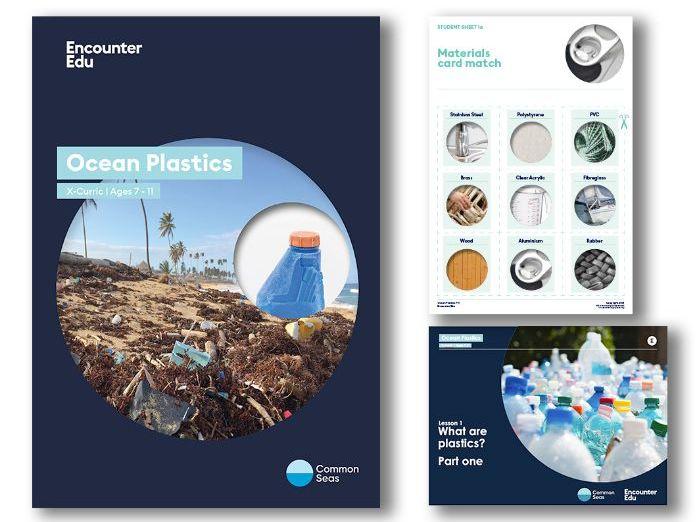 Ocean Plastics X-Curric KS2 Unit