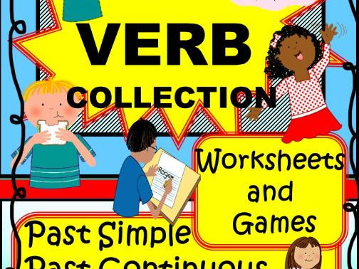 70+ Verb Collection for EAL / ESL / ELL students
