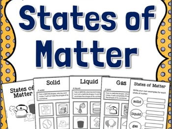 states of matter book pdf