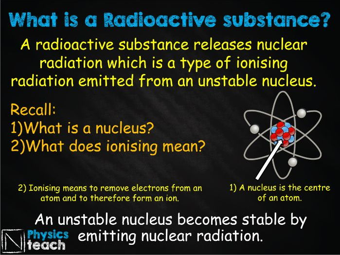 FREE GCSE AQA Physics - 7.1 - Introduction to Nuclear Radiation