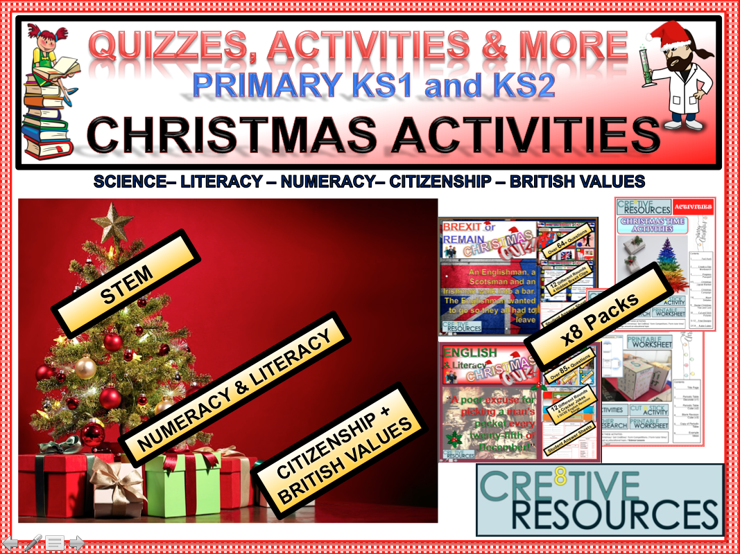 Primary Christmas Activities