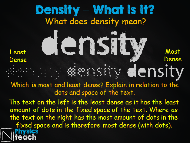 GCSE AQA Physics - P6.1 Density, Mass and Volume + REQUIRED PRACTICAL 5