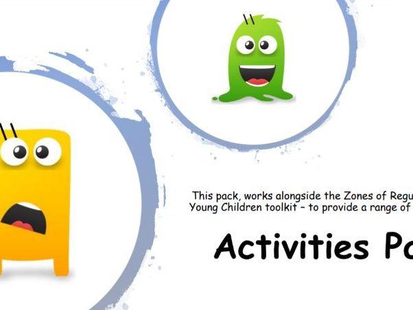 Zones of Regulation Activity Pack