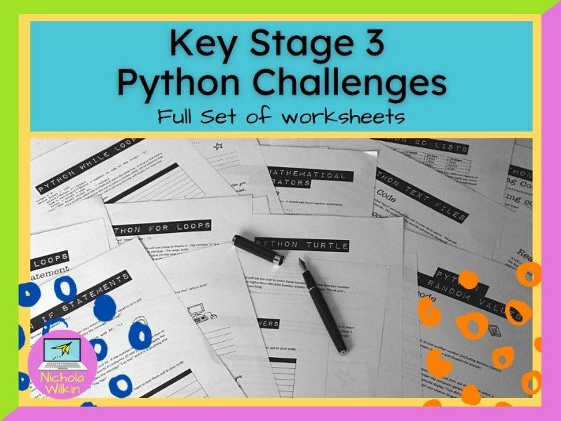 Python Worksheets