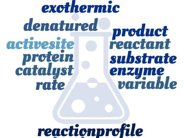 Rates of Reaction Crossword - EDEXCEL GCSE (9-1) Combined Science Paper 4