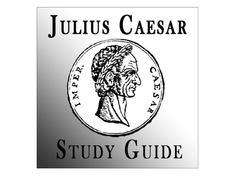 Julius Caesar by Shakespeare: Study Guide, Cloze Notes, and Background Presentation
