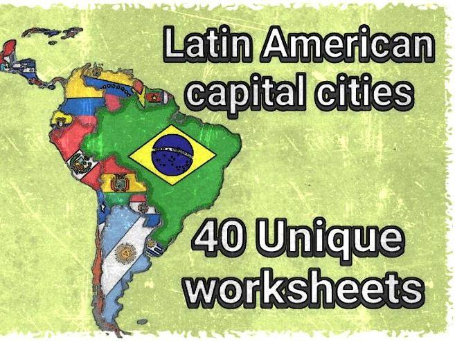 LATIN AMERICAN STATE CAPITALS