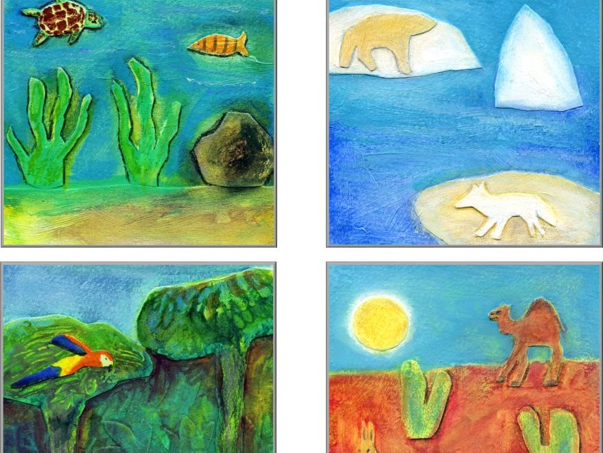 Using Language Levels by Marion Blank: 7 Different Habitats