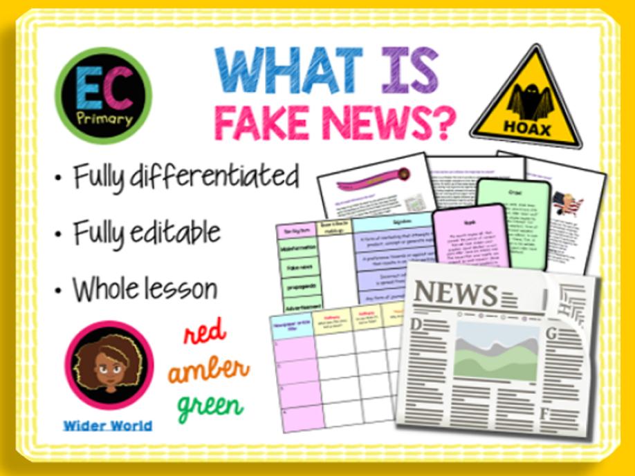 Fake News KS2