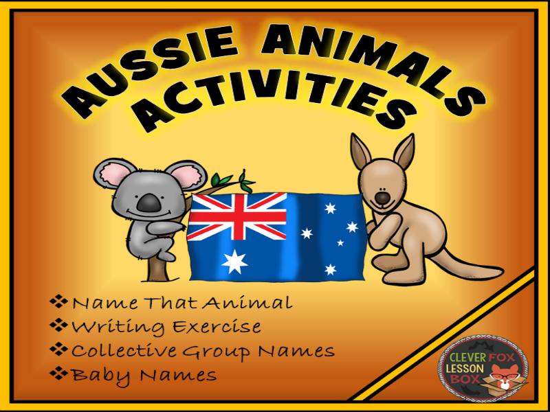 australian animals by suzeyuill teaching resources tes