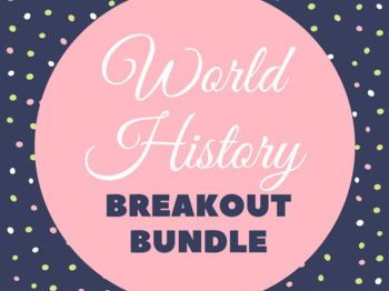 World History Breakout Game Bundle (9 Games)