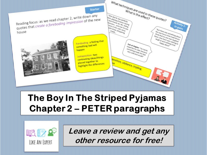 Boy In The Striped Pyjamas - Chapter 2