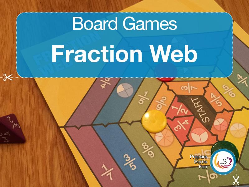 Fraction Web | Board Game