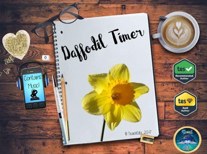 St David's Day Daffodil Timer