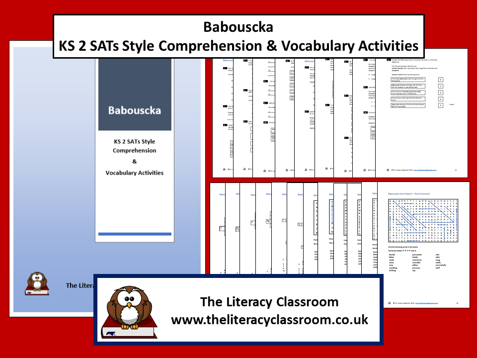 Babouscka KS 2 SATs Style Comprehension & Vocabulary Activities