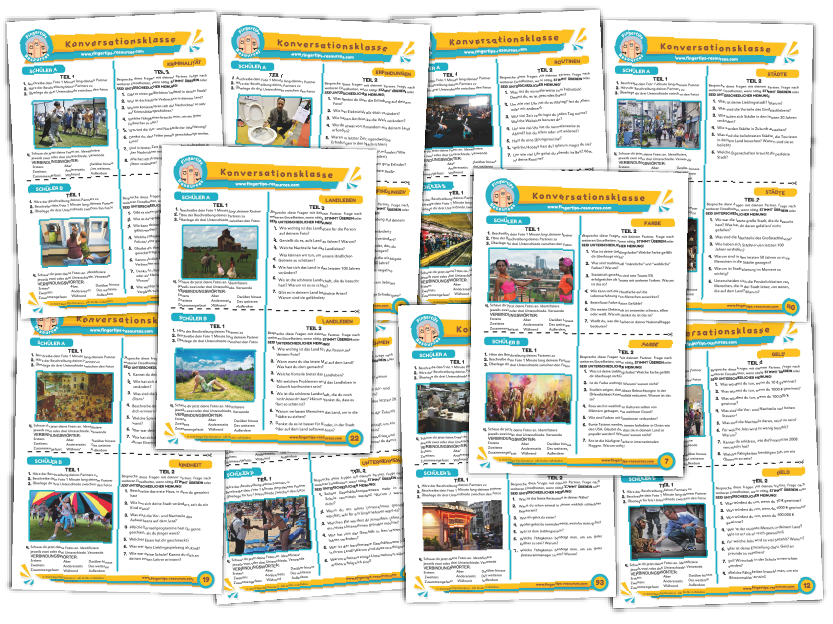10 x German Speaking Bundle (Pack 9)