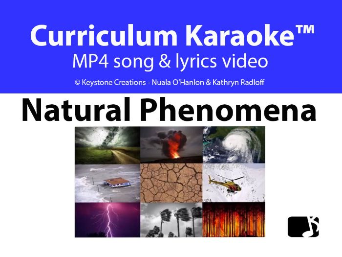 'NATURAL PHENOMENA' (Grades 3-7) ~ Curriculum Song Video