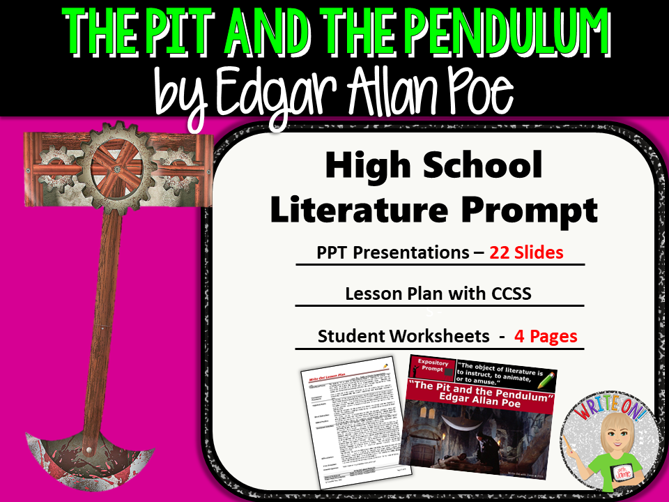 pit and the pendulum by poe Poe was always my literary boyfriend, even from a young age i remember reading edgar allan poe's complete tales and poems as a little girl and being simultaneously freaked out and enchanted.