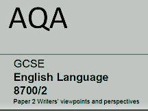 AQA Language Paper 2 - Questions 1, 2, 3 and 5