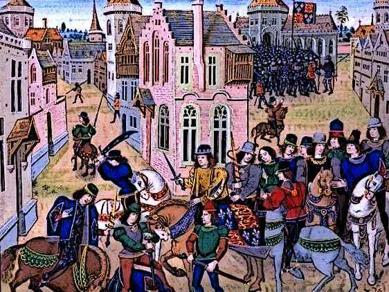 King Richard II, Wat Tyler and the Peasants' Revolt of 1381