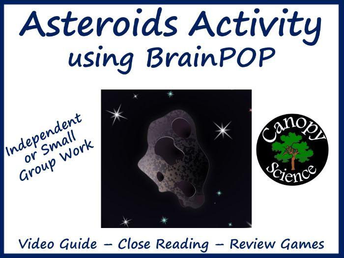 Asteroids Activity using BrainPOP