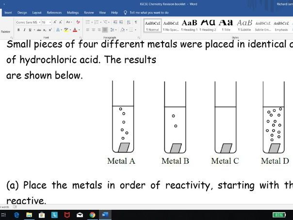 Edexcel IGCSE Chemistry MEGA WORKBOOK