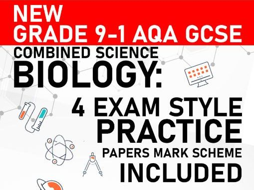 PREDICTED 2021 AQA GCSE Combined Science Biology Practice Paper - Mark Scheme Included - Paper 4