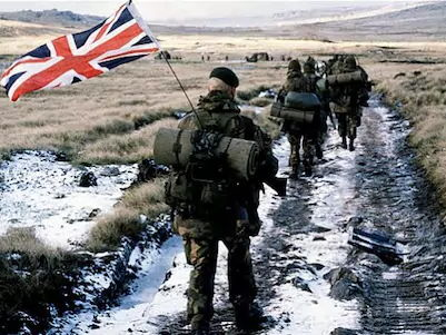 Falklands War Conflict full lesson