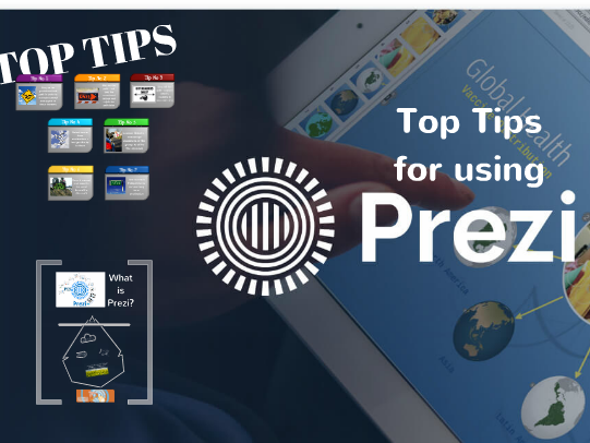 Top Tips for Using Prezi