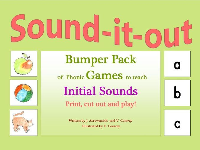 Initial sounds Games Book forReception/Yr.1 and Special Needs
