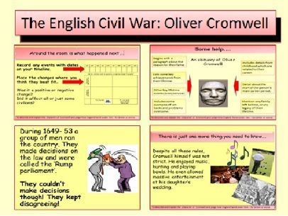 The English Civil War: Who was Oliver Cromwell?