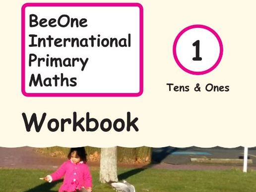 Grade 1 Math Tens & Ones Workbook from BeeOne Books