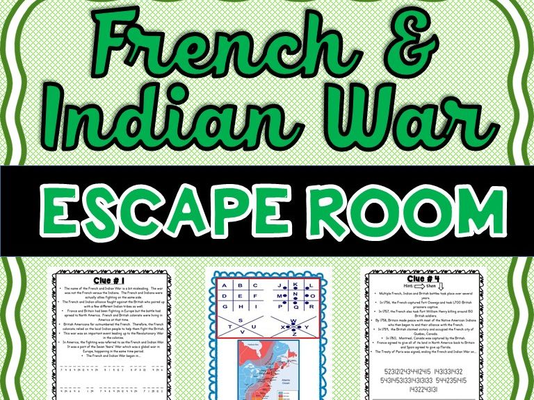French and Indian War Escape Room