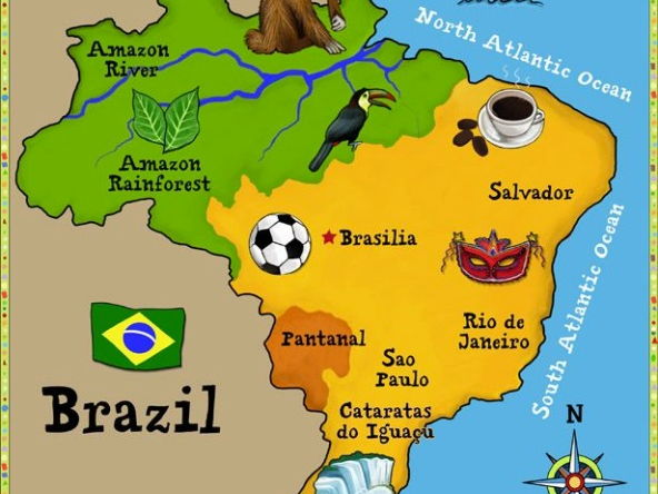Brazil / Amazon Rainforest - Literacy / Geography based resources for Y4-6
